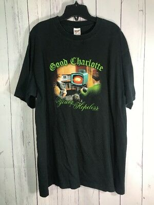 Good Charlotte The Young And The Hopeless XL Anvil T Shirt 2002