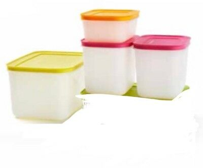 Tupperware Freezer Keeper Small And Medium High, Small Low Brand New 4 Pcs Total