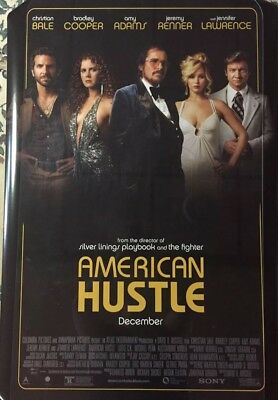 AMERICAN HUSTLE Authentic 27x40 D/S Movie Poster.
