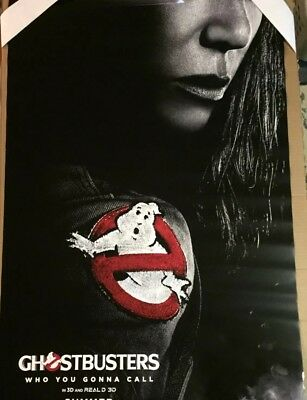 GHOSTBUSTERS (2016) Authentic 27x40 D/S Movie Poster.
