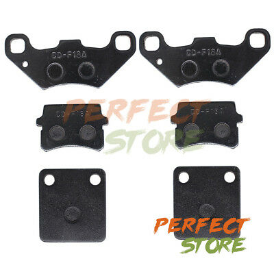 Front & Rear Brake Pad Set for Tombrelin Crossfire 150 150R 150CC Go Kart Buggy