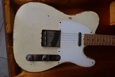 1958 Fender Telecaster Super Relic 6.13 lbs Sweet sounding '58 Tele USA RI Aged
