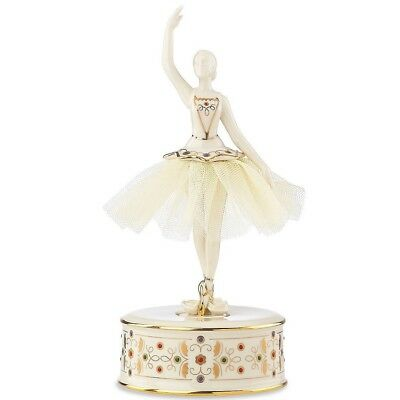 Lenox China Jewels Musical Ballerina Figurine Nutcracker Suite Ballet New 867252