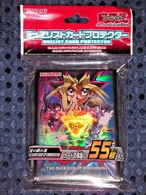 YuGiOh OCG Dark Side of Dimensions Duelist Card Sleeve Protector 55pcs JAPAN F/S