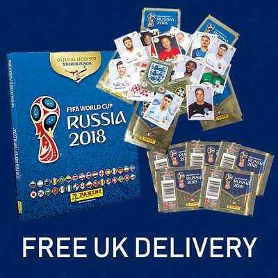 World Cup 2018 Stickers & Albums Panini FIFA Football Russia 5s, 10s, 20s, 50s