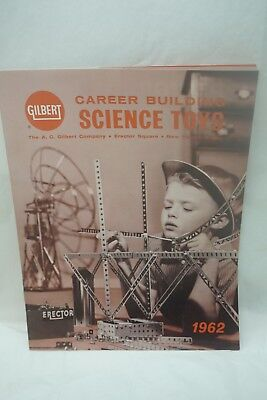 Vintage Toy Catalog Gilbert 1962 Career Building Science Toys Erector Chemistry