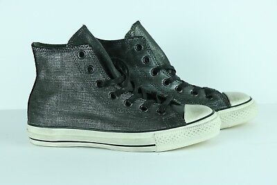 eb97ca3f0811 Converse John Varvatos Chuck Taylor Sneakers Painted Shine Black 150175C  Size 6