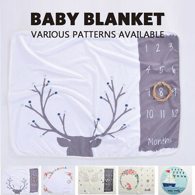 5 Style Personalized Baby Boy Girl Receiving Blanket Lot Quilt Towel Outdoor mat