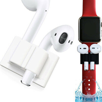 Anti Lost Watch Band Holder Strap Silicone Protective Cover for Apple AirPods FR