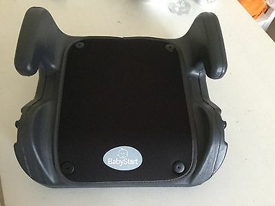 Child car booster seat from 4 to 12 years old black new  15 to 36 kg group 2-3