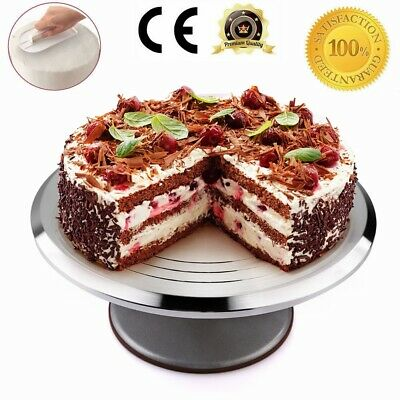 28cm Kitchen Cake Decorating Icing Rotating Revolving Turntable Display Stand