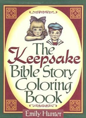 The Keepsake Bible Story Coloring Book By Hunter Emily
