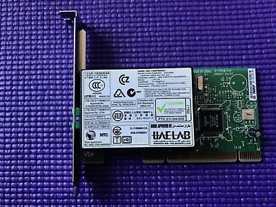HP PCI FAX / MODEM Card