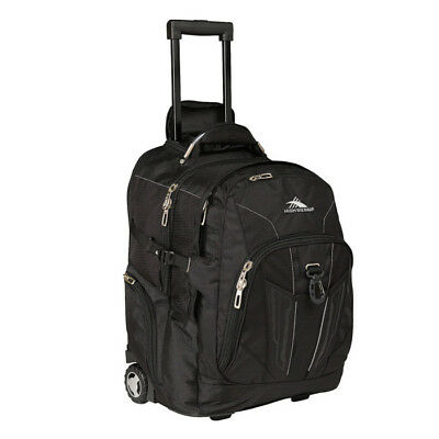 High Sierra - XBT 17 Inch Wheeled Laptop Backpack - Black