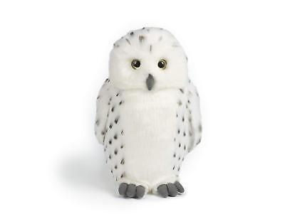 Snowy Owl 30cm Hedwig Living Nature White Plush Soft Toy