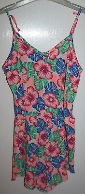 New Look Girls Floral Playsuit Age 14 - 15 Years