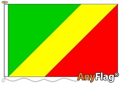 Congo Brazzaville Custom  Made To Order Various Flag Sizes