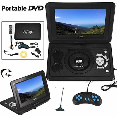 "13.9"" LCD Display DVD Player Tragbarer DVD Spieler 270° Drehbar Game TV USB SD"