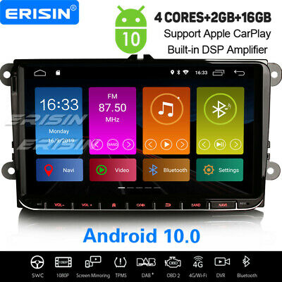 "8"" Android 8.1 Car Radio Satnav For VW Passat Golf Touran Caddy Jetta Skoda Seat"