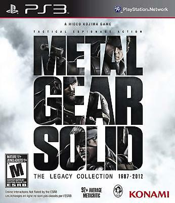 Metal Gear Solid: The Legacy Collection no Artbook PS3 PlayStation 3