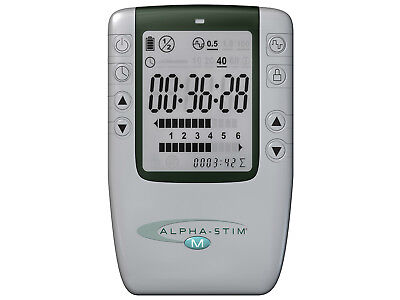 BRAND NEW ALPHA STIM M Natural solution for RELIEF for PAIN,ANXIETY, DEPRESSION