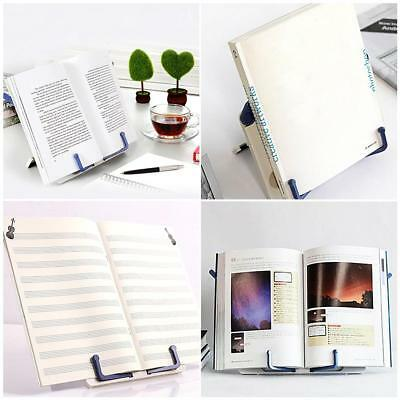 Portable No-slip Folding Reading Stand Book Recipe Shelf Tablet Holder Organizer