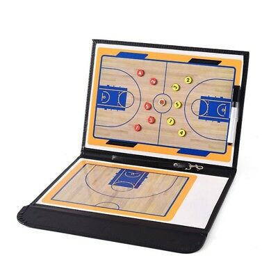New Basketball Tactical Board Double Sides Clipboard Dry Erase Tactical Marker