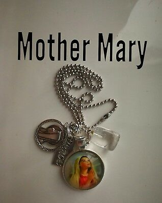 Code 290 Peace with Mother Mary infused Necklace Doreen Virtue Practitioner