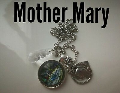 Code 220 Peace with Mother Mary infused Necklace Doreen Virtue Practitioner