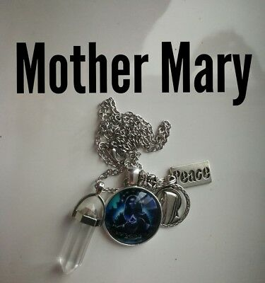 Code 222 Peace with Mother Mary infused Necklace Doreen Virtue Practitioner