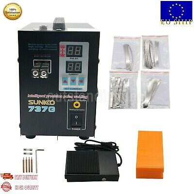 737G Spot Welder 1.5KW Battery Spot Welding Machine for 18650 Battery Pack EU