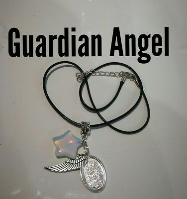 Code 214 Opalite Infused Guardian Necklace Doreen Virtue Certified Practitioner