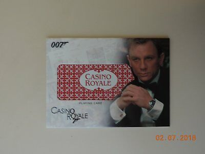 James Bond The Complete Relic Card RC17 Playing Card