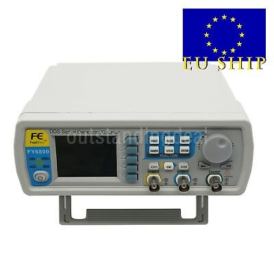 DDS Signal Generator Dual-Ch 0.01-100MHz Function Arbitrary Waveform Pulse UK