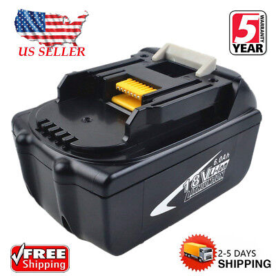 For Makita BL1860 BL1845 LXT 18V 6.0Ah Lithium Ion Battery BL1840 BL1850 BL1830