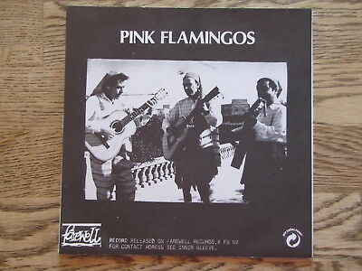 """PINK FLAMINGOS - sell out...etc...7 tracks on 33.. SINGLE 7"""""""