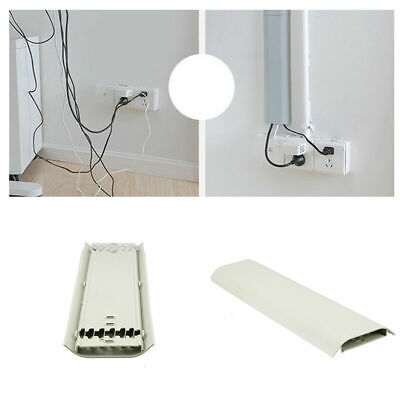 Wall Cable Cover  Flat Screen TV Cord Wire Tidy Cover Organizer Durable Holder
