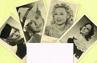ROSS VERLAG - 1940s Film Star Postcards produced in Germany #A3021 to #A3100