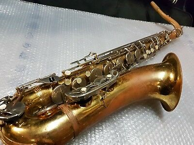50's HALLMARK by MALERNE TENOR SAX / SAXOPHONE - made in FRANCE