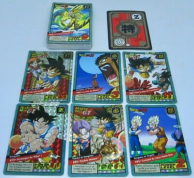 Dragon Ball Z & GT POWER LEVEL, LE GRAND COMBAT Part.5 Full Set 44/44 1997