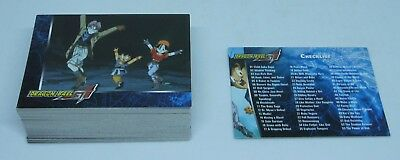 Dragon Ball GT TRADING CARD GT 72/72 Checklist Inlcuded MINT