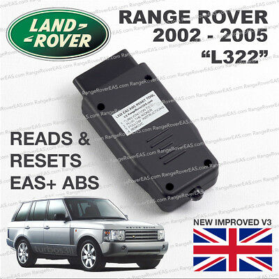 Range Rover L322 EAS ABS RESET tool Air Suspension kicker fault clear activate