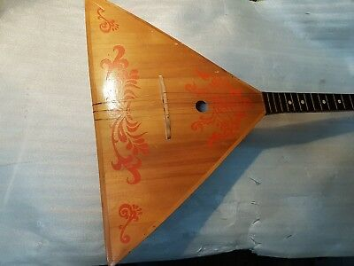 80's BALALAIKA 3 STRINGS - made in RUSSIA