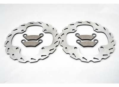 2014 Polaris 850 Scrambler XP Front Brakes Brake Pads And Sport Brake Rotors
