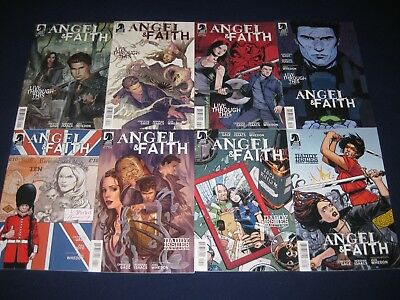 Angel & Faith Season 9 1-25 Dark Horse Comics Buffy the Vampire Slayer