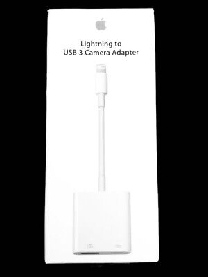 Apple Lightning to USB 3 Camera Adapter MK0W2AM/A (Model A1619) for iPad iPhone