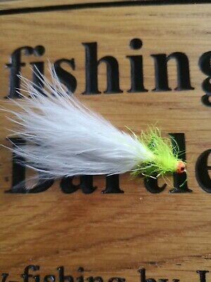 Cats Whisker Hot Head Stalking Bug Trout Fly Buzzer Lure Sz12