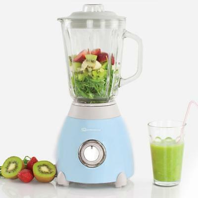 500W Electric Multi Food Blender & Grinder Smoothie Maker Processor Skyline Blue
