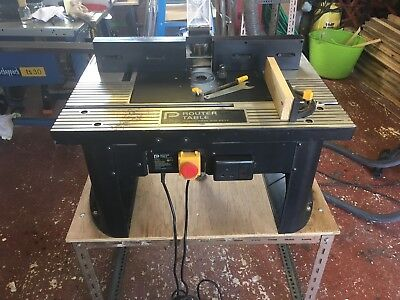 Router table and router 13600 picclick uk router table and router keyboard keysfo Choice Image