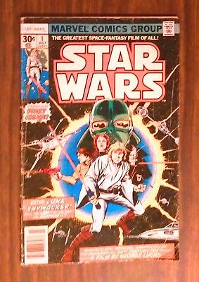Star Wars Volume 1 No.1 1977 Marvel Comics